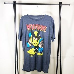 Wolverine Marvel Shirt Size Large New Without Tags